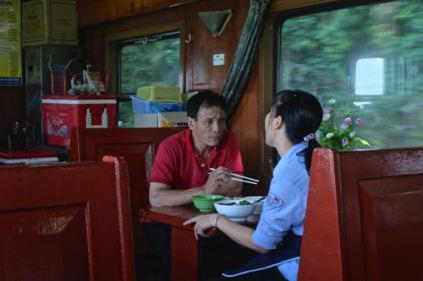 Train to Danang, 2.5 hours + 1hour taxi to Hoi An