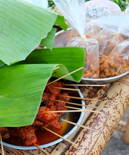 Streetfood, Lombok