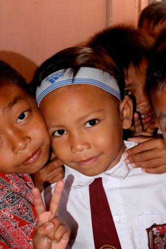 Schoolkids, Cianjur, Java