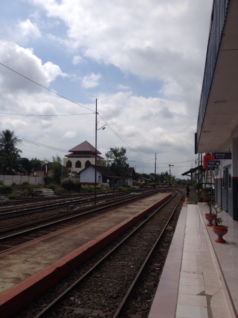 Kalibaru train station