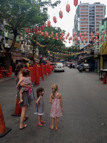 Jalan Alor, foodstall-street