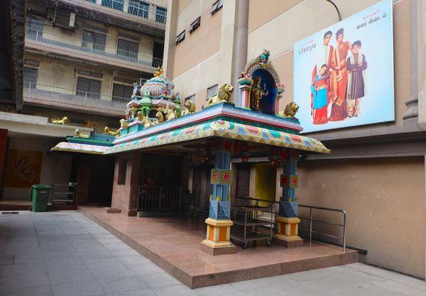 Billboards in the temple ..?