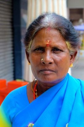 Hindu woman, KL