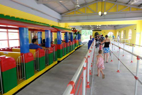 The lego train