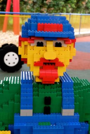Mr. Praha, another Lego Employee