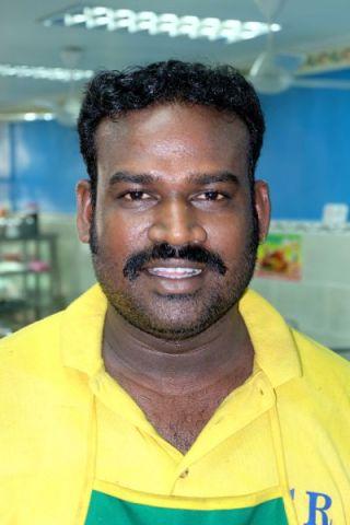 Mr. Suria, manager Indian Banana Leaf Restaurant, Melaka