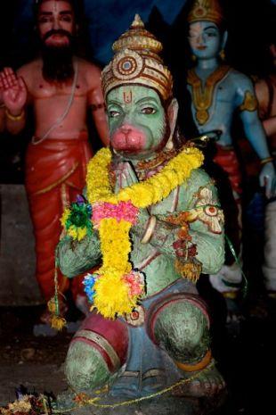 Hanuman, the monkey god