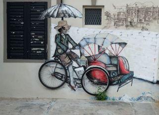 A little taste of the street art in Georgetown ...