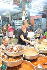 Chinese street food in Taiping