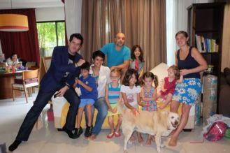 Kl, with Ann Ibrahim, Jason Lee, Keiah, Elie and Jack, KL