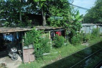 The suburbs of Bangkok ...