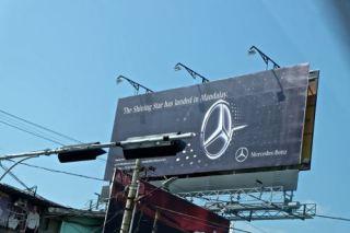 Mercedes has come