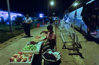 Nightbus to Yangon