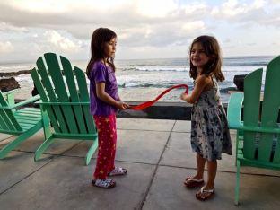 Aurora and Marie-Lou