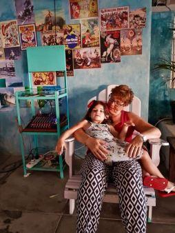 Grandma Hilde and Marie-Lou