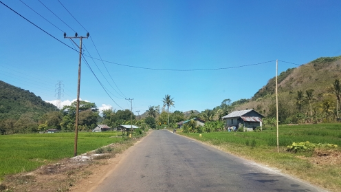 On the road to Ruteng