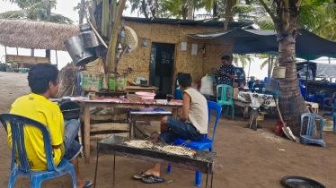 Local fish restaurant